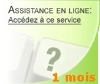Ticket assistance EBP valable 1 mois